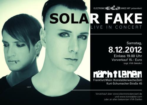 """Solar Fake, der neue Song """"RESET TO DEFAULT"""" gratis bis 31.12.2012"""