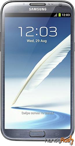Samsung Note II N7100 mit AllNet Falt für 859,- über zwei Jahre oder 35,- im Monat