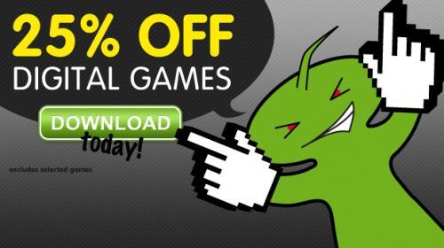 Greenmangaming / 25% auf alle Digitaldownloads und Vorbestellungen