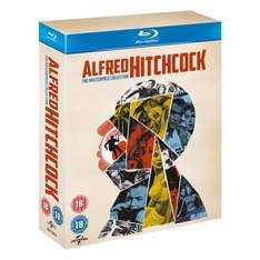 [Amazon.co.uk] Alfred Hitchcock: The Masterpiece Collection [Blu-ray] (14 Blu-Rays) - 5,41€ pro Film