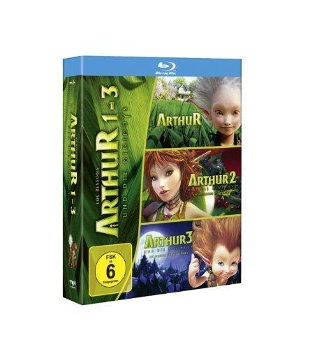 Arthur und die Minimoys 1-3 [Blu-ray] für 16,97 Euro @ Amazon.de
