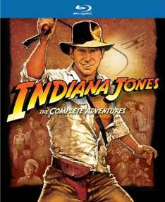 [ZAVVI.COM] Blu-Ray - Indiana Jones: The Complete Adventures (5 Discs) für €31,05