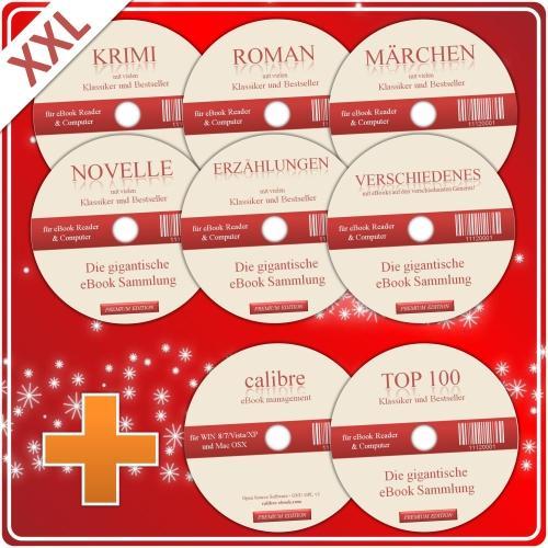 Über 2.000 eBooks für PC oder Tablet auf 8 CDs für nur 13,98 EUR inkl. Versand!