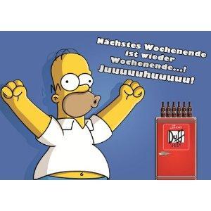 GRATIS Poster von Homer Simpson zu jeder Bestellung