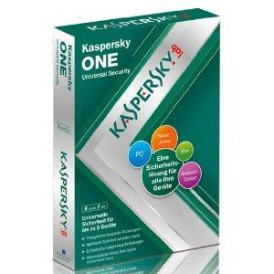 Kaspersky One 5 Geräte - Lizenz @ Amazon / fast 50% billiger als Idealo Vergleichspreis