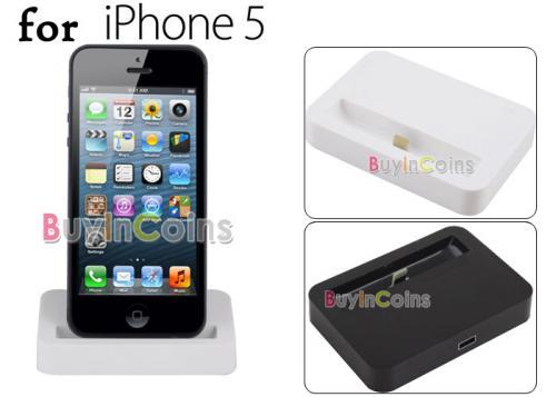 (HK) IPhone 5 Dock (8 Pin) für 5.18€ @ Ebay