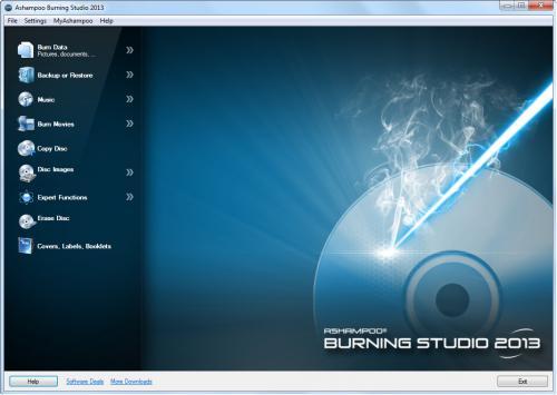 Ashampoo Burning Studio 2013