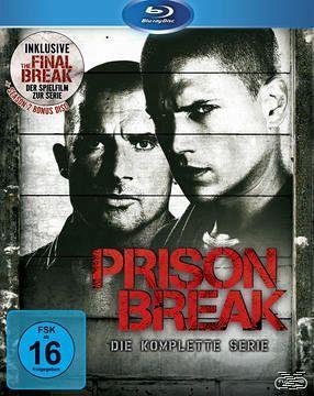 Prison Break, Die komplette Serie (Blu Ray) für 56,99 Euro @ buecher.de