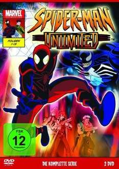 [AMAZON.DE] Spider-Man Unlimited – Die komplette Serie [2 DVDs] ab 9.97 Euro