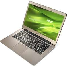 Acer Aspire S3-391 Ultrabook 13,3 Zoll mit Intel i3, SSD & HDD, Windows 8
