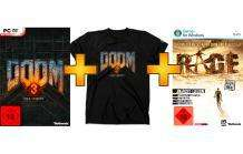 [PC] DOOM 3: BFG Edition inkl. T-Shirt & inkl. Rage (Exklusiv Edition) für 29,99€ @Saturn