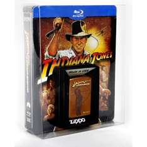 [Blu-ray] Indiana Jones The Complete Adventures : Jumbo Steelbook inkl. Zippo