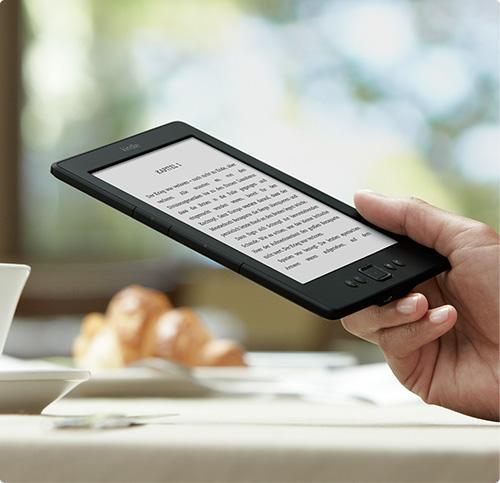 Klein, leicht und perfekt zum Lesen: Kindle für 79,00€ @Amazon.de