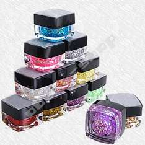 12X Farben UV Farbgel Nagelgel Glitter für 11,19€ @ebay.de
