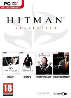 Hitman Collection Teil 1-4 Uncut @ Amazon Marketplace für ca. 8,70 Euro aus England