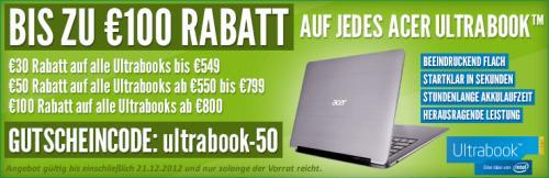 Acer Aspire S3-391-33214G52add das Ultrabook™ für Alle