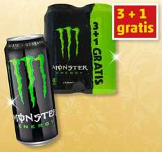 Monster Energy 4 x 0,5L bei Penny