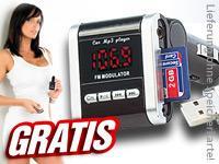 (Pearl) FM-Transmitter für Autoradio gratis (VSK: 4,90€)