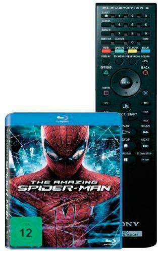 Amazing Spidermann + PS3 Fernbedienung für 21,95€ @Smdv