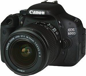 Canon EOS 600 D + EF-S 18–55 bei Mediamarkt