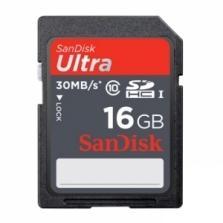SanDisk 16GB Ultra SDHC Klasse 10 (30MB/s) für 9,49€  @Zoombits