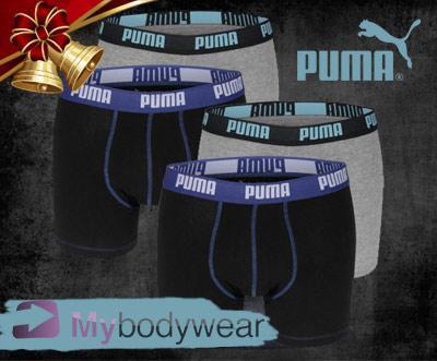 4er-Pack stylishe Boxershorts von Puma bei DD