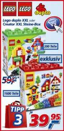 Lego XXL Box (5512) - real Markt offline