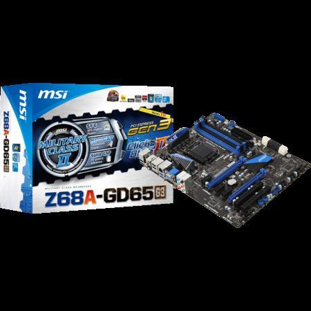"""Mainboard Sockel 1155 """"Z68A-GD65 (G3)"""""""