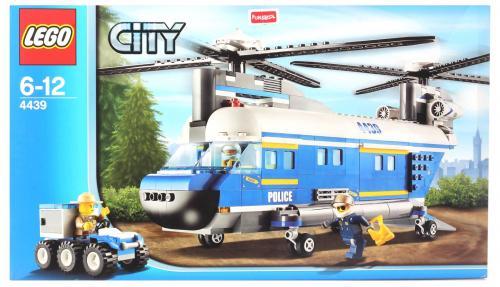 LEGO City 4439 - Hubschrauber mit Doppelrotor - Metro Korntal
