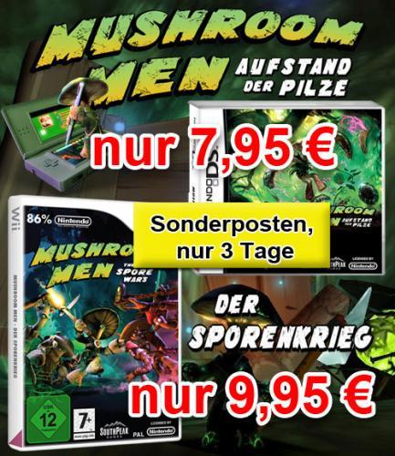 Mushroom Men - Aufstand der Pilze für NDS für 7,95€ im Topware-Shop