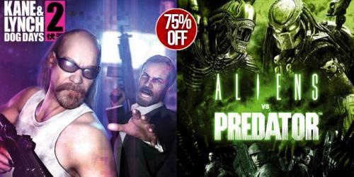 [Steam] Alien vs Predator (2010)/Kane & Lynch 2: Dog Days für je 2,86€ @GetGamesGo