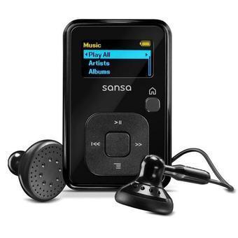 SANDISK MP3-Player mit FM-Radio Sansa Clip+ 4 GB - Schwarz