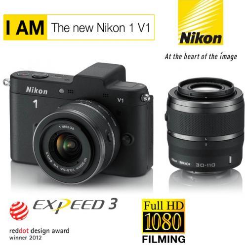 [iBood.de] Nikon 1 V1 Kit mit 10-30 mm und 30-110 mm Objektiv