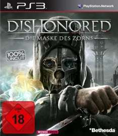 Dishonored PS3/Xbox360 für 24,99 - PC-Version für 17,99