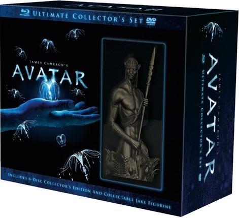 Avatar Ultimate Edition (Blu-ray)  mit Avatar Figur für 27,99  EUR inkl. VSK @ Amazon.es(Spanien)