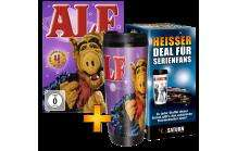 Serien ab 9,99 EUR inkl. Thermobecher (z.B. Alf, Big Bang Theory, Two and a half man)