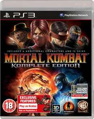 Mortal Kombat: Komplete Edition(UNCUT VERSION) PS3 & XBOX360 für 15,90 Euro @ Zavvi.com (Wieder da)
