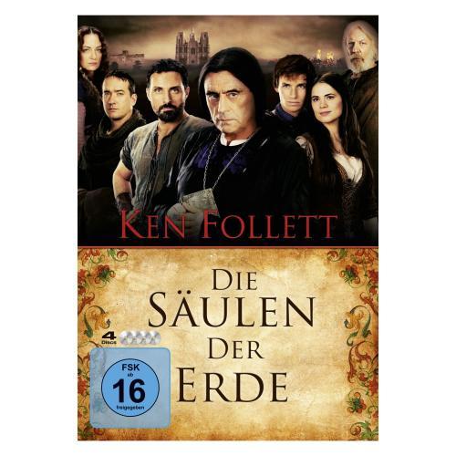 Die Säulen der Erde - 4 DVD Edition
