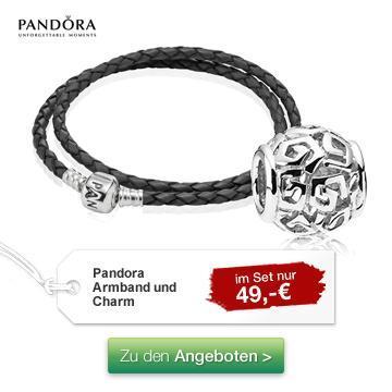 [nur heute] Galeria Kaufhof: Pandora Lederarmband + Pandora Silber-Element für 49€ abzgl. 10% gutschein und 12% Cashback!