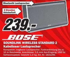 Bose Soundlink Wireless Standard II @MM (lokal?)