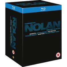 Christopher Nolan Director's Collection - Blu-ray @ AMAZON UK