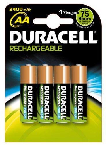 Duracell Supreme Akku (AA, HR6, 1,2 Volt, 2.400mAH) 4 Stück 11,49€