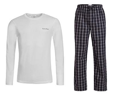 Pyjama-Geschenkset von Calvin Klein für Herren aus 100 % Baumwolle (Größen S-XL) bei mybodywear für 34.95€ (UVP: 64,95€)