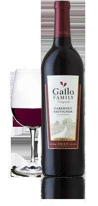 Real: Gallo Family Weine verschiedene Sorten 6 Flaschen für 18€
