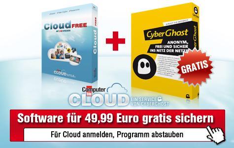 """1 Jahr """"CyberGhost Classic VPN"""" gratis - Wert: 49,99 €"""