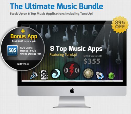 Ultimate Music Bundle mit 7 Apps für 39$ (29,62€) - 89% Ersparnis