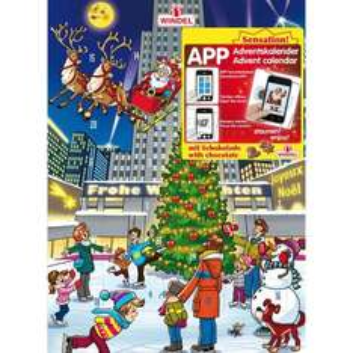 Windel APP Adventskalender, 24er Pack (24 x 75 g)  4,99 € statt 54,96 + 3 € VSK