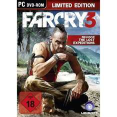 Far Cry 3 - Limited Edition - PC - Amazon.de - 37,97 € + 5 € VSK