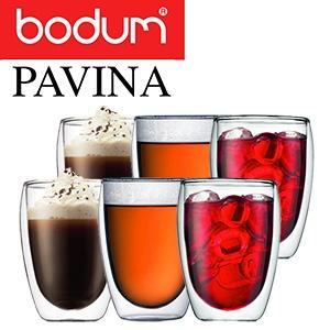 Bodum Pavina Set bestehend aus 6 doppelwandigen Gläsern mit 0,36 ml bei iBood