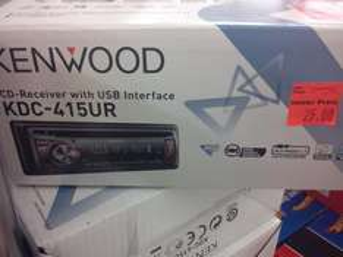 [Lokal@Penny Dresden] Kenwood Autoradio mit USB für 25 Eur